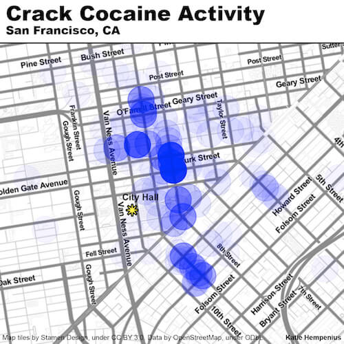 San Francisco Crack Activity